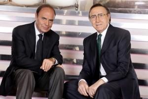 Pippo Baudo e Bruno Vespa Foto