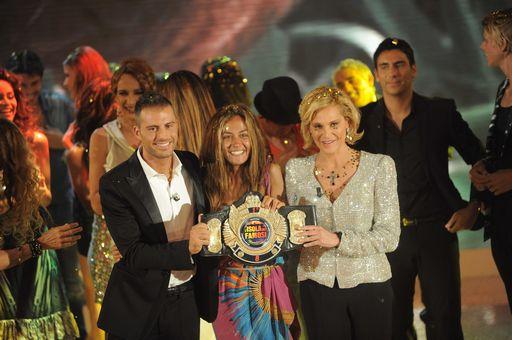Foto Finale de L'Isola dei Famosi 2011 vince Giorgia Palmas