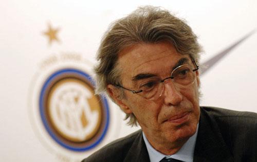 Foto del Presidente dell'Inter Massimo Moratti