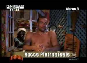 Rocco Pietrantonio uman take control italia1 Foto