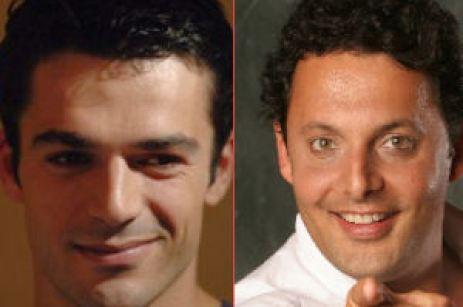 Enrico Brignano e Luca Argentero Le Iene Italia1 Foto