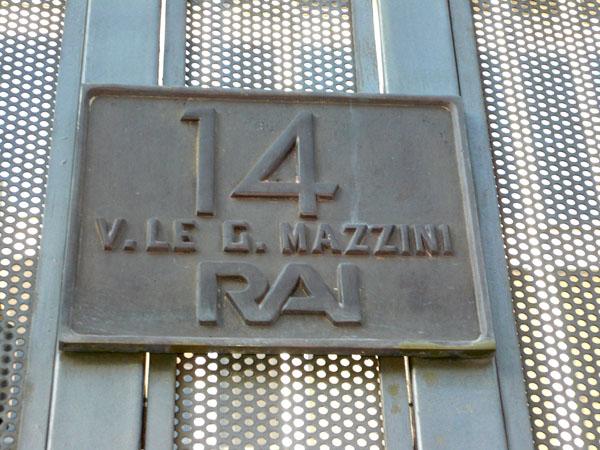 Cda Viale Mazzini RAI Foto