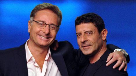 Paolo Bonlis e Luca Laurenti Foto