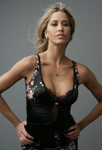 la showgirl elena santarelli