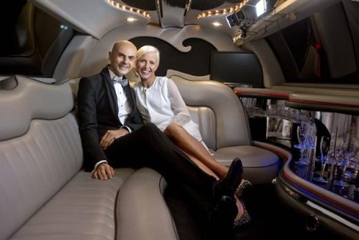Enzo Miccio e Carla Gozzi Shopping Night