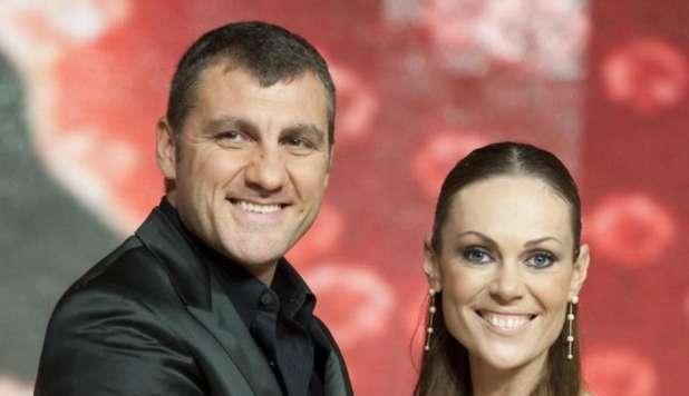 Ballando con le stelle, Vieri e Natalia Titova