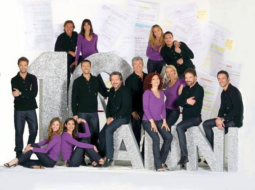 Foto cast Centovetrine per i 10 anni