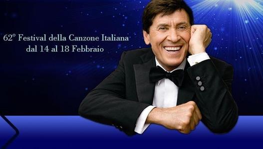 foto Gianni Morandi Sanremo 2012