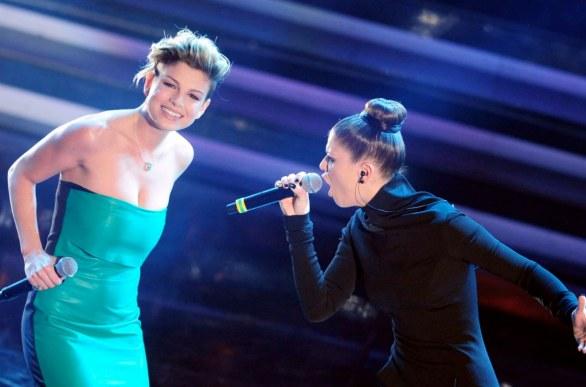 Festival di Sanremo 2012 foto Non è l'inferno