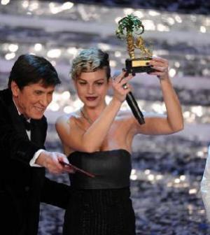 Foto Emma vincitrice Sanremo 2012
