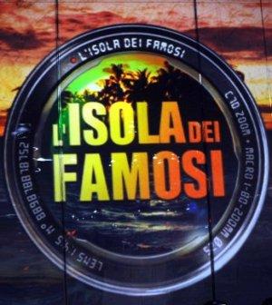 Isola dei famosi 9 logo schermo