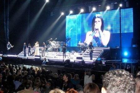 Laura Pausini concerto