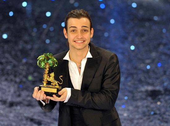 Il vincitore di Sanremo 2010, Valerio Scanu