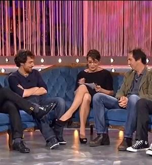 Serena Dandini intervista a Elio Germano e il cast di Diaz