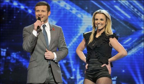 britney spears a X-Factor
