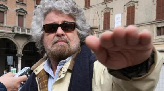Beppe Grillo a SErvizio pubblico e Piazzapulita