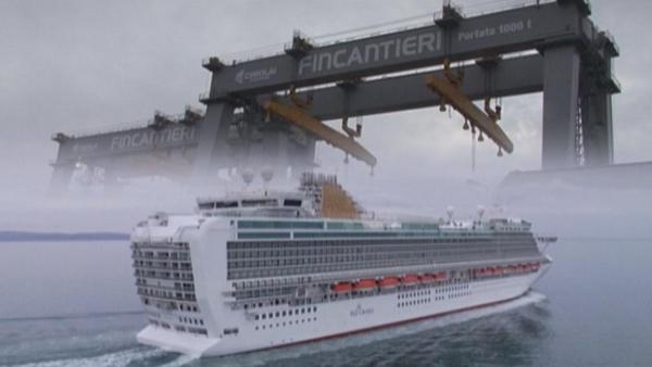 Report indaga sui cantieri navali