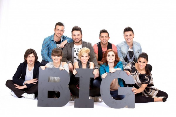 Amici 11 girone Big serale