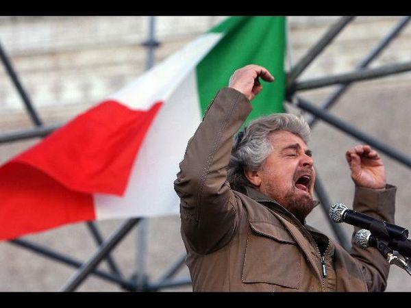 Beppe Grillo, avanzata alle elezioni amministrative