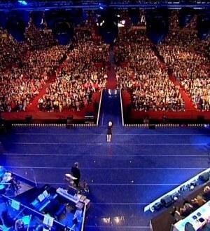 Foto palco di Amici 11 all' Arena di Verona