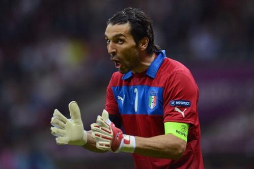 """Euro 2012. Buffon: """"Non possiamo scherzare col fuoco"""""""