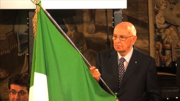 Euro 2012, Napolitano si commuove per gli Azzurri, Buffon ringrazia