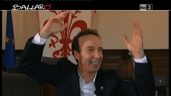 Il comico Roberto Benigni