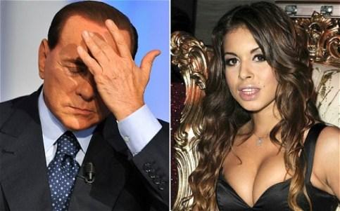 Michelle Conceicao: ho visto ruby fare sesso con Berlusconi
