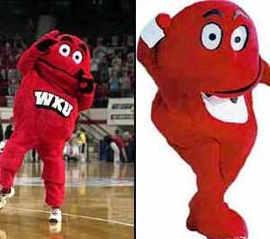 Foto Big Red vs Gabibbo