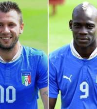 Mario Balotelli e Antonio Cassano