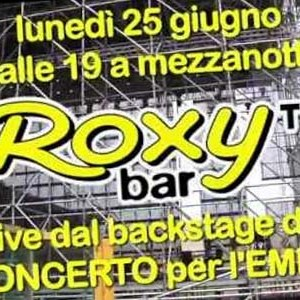 concerto per l'emilia rai1 roxy bar tv red ronnie