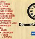 Foto di concerto per l' emilia su Rai 1