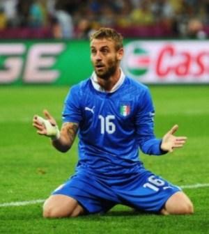 foto daniele de rossi euro 2012
