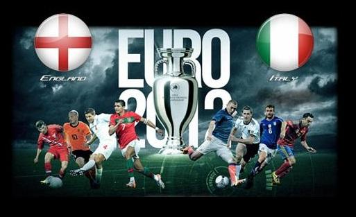 Foto di Inghilterra - Italia Euro 2012