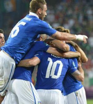 Foto giocatori Italia Euro 2012
