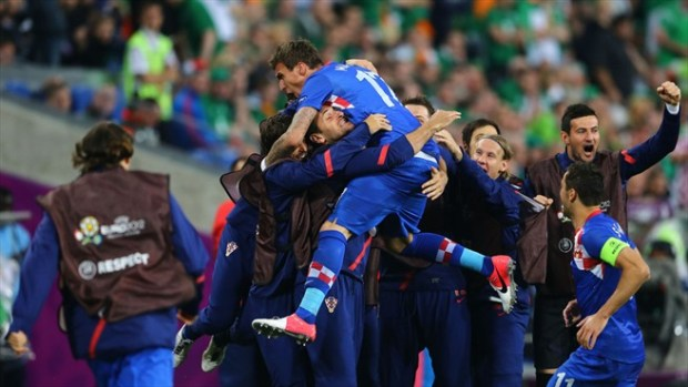 La nazionale croata di calcio