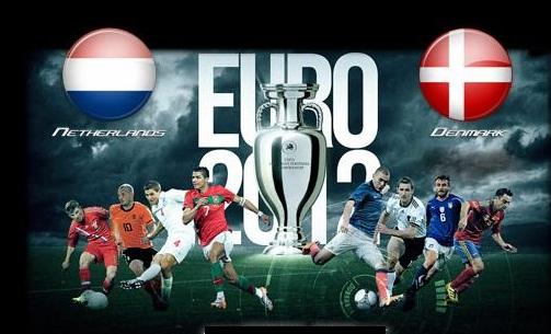 Foto Olanda vs Danimarca Euro 2012