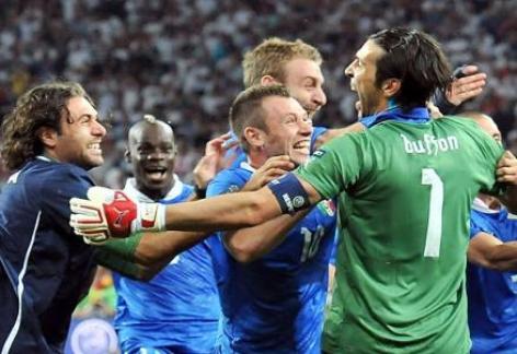 Euro 2012. Italia-Inghilterra: la stampa inglese elogia gli azzurri