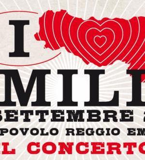 Italia loves Emilia logo concerto beneficenza
