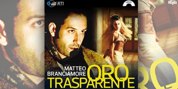 matteo branciamore oro trasparente singolo copertina