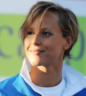 Foto di Federica Pellegrini alle Olimpiadi 2012