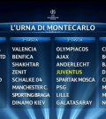 Sorteggi Champions 2013