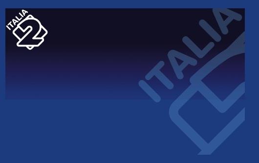 Logo di Italia 2 nuovo restyling