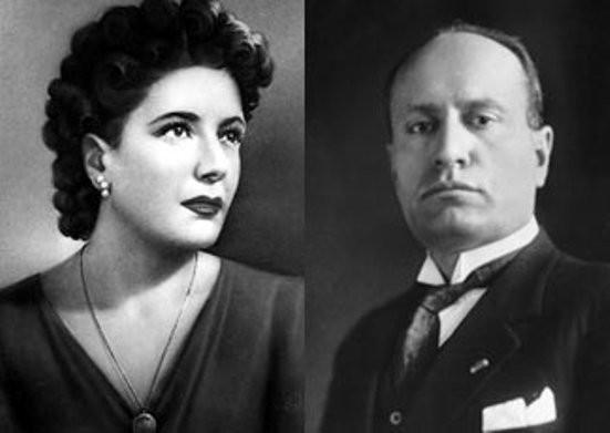 Benito Mussolini e Claretta Petacci