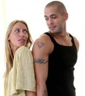 Foto Karina Cascella e Salvatore Angelucci