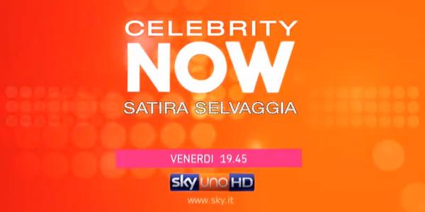 celebrity now satira selvaggia lucarelli sky uno HD novembre