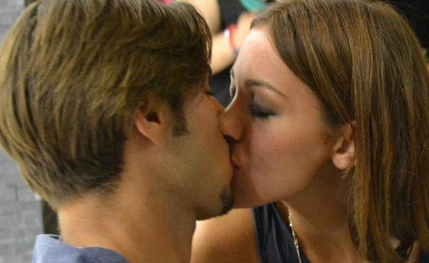 Francesco Monte e Teresanna Pugliese di nuovo insieme