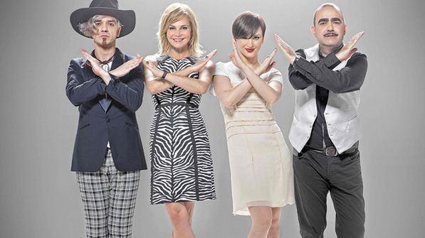 Foto dei Giudici di X Factor 6 su Sky