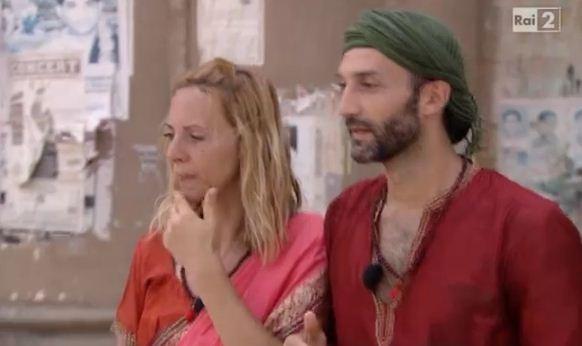 Foto di Debora Villa e Alessandro Sampaoli gli attori