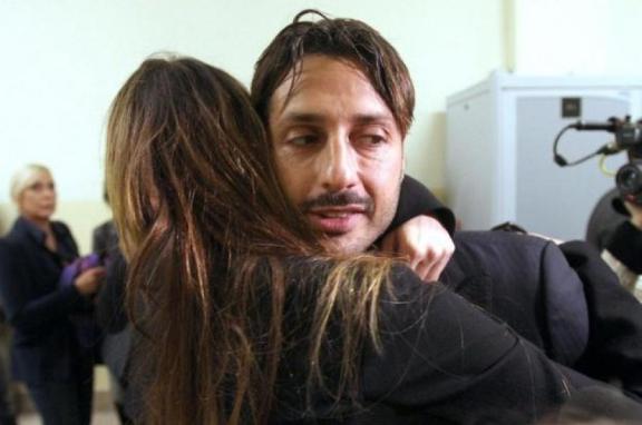 Fabrizio Corona e Nina Moric di nuovo insieme